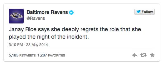 Baltimore Ravens deleted tweet