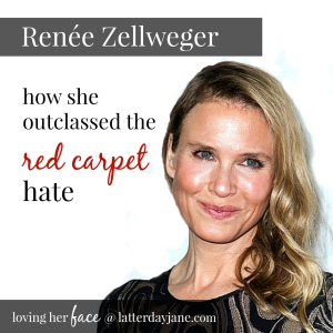 renee zellweger how she outclassed the red carpet hate
