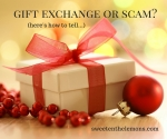 Gift exchange or holiday scam? Here's how to tell.